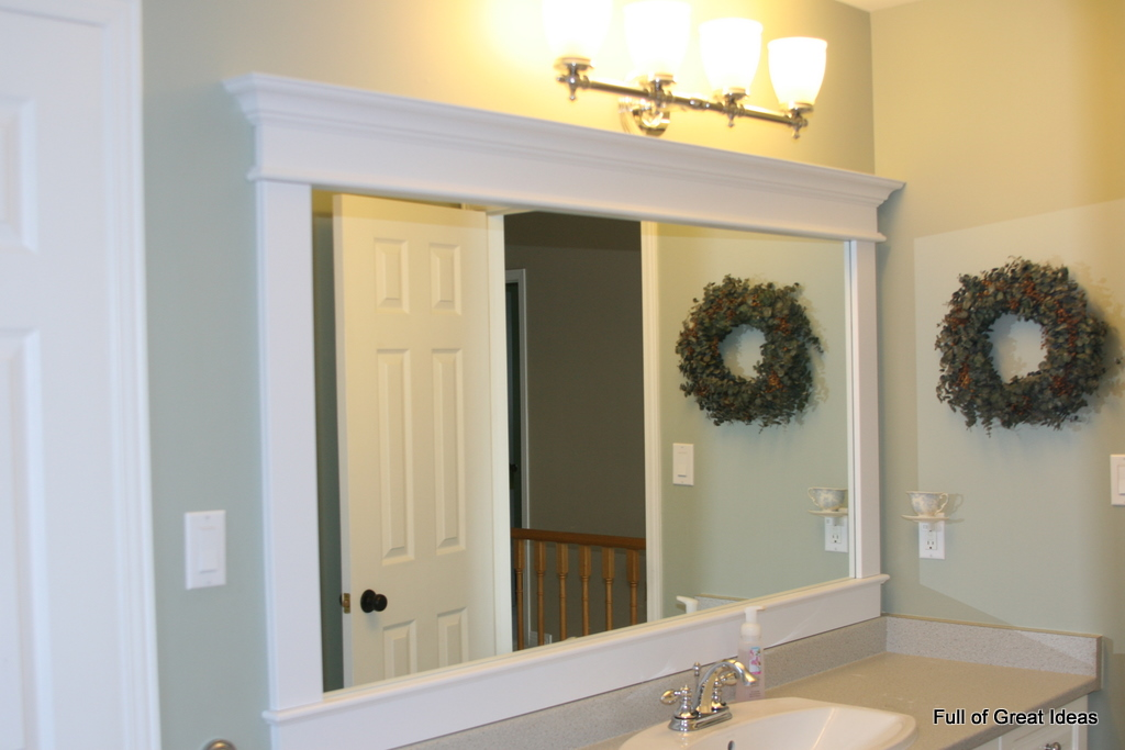 413  4  Bathroom mirror fix. 6 Easy Home Updates   Automated Lifestyles